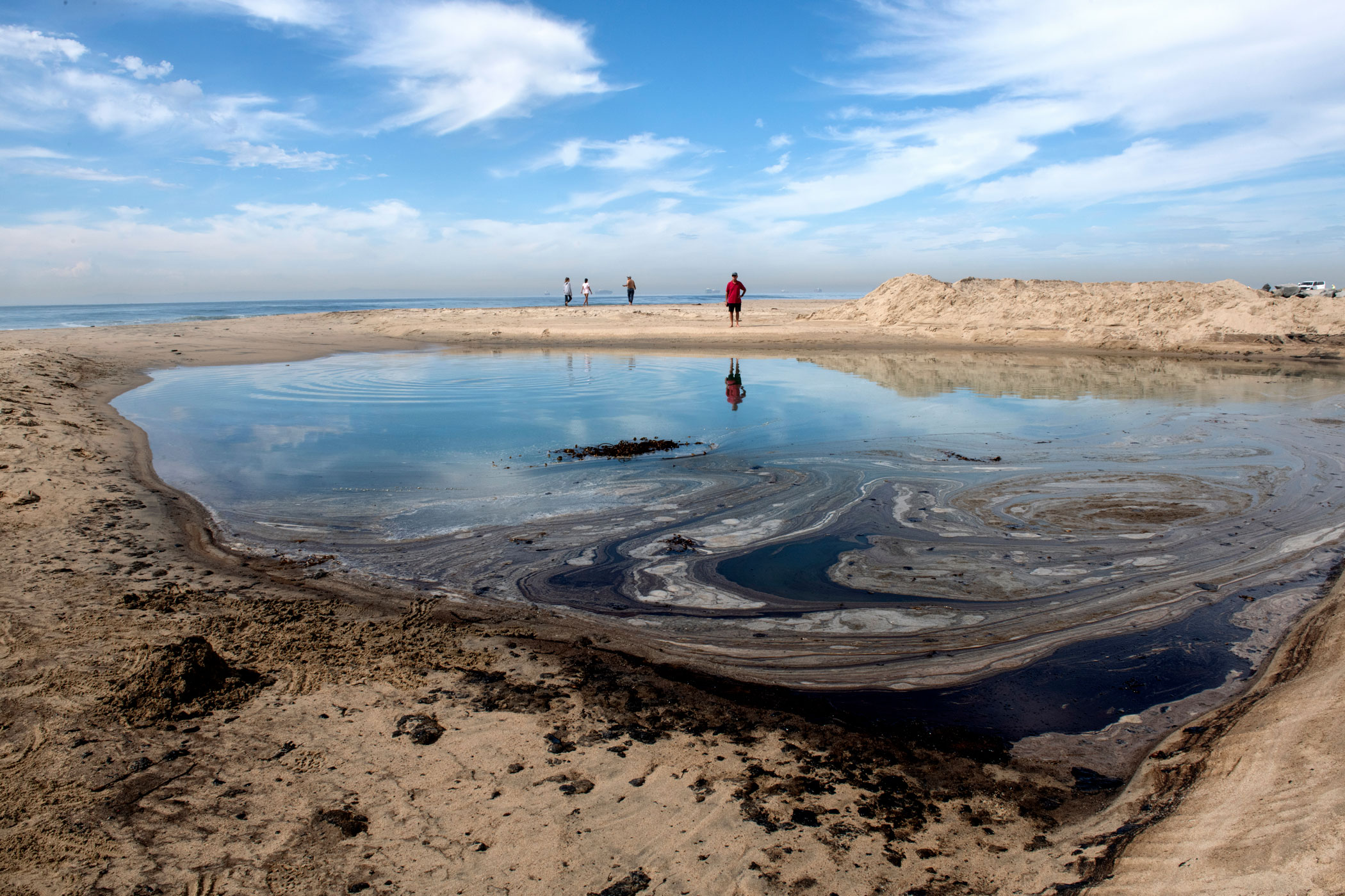 Recent oil spill in Huntington Beach feature included in special report on climate crisis