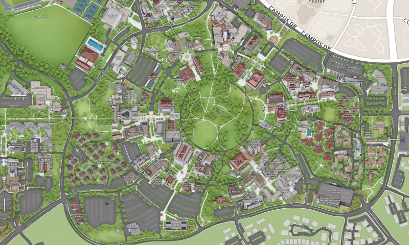 uci main campus map Visit Uci uci main campus map