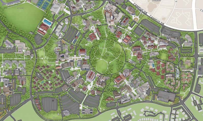 Visit | UCI Uc Irvine Campus Map